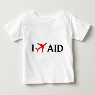 私は援助-アンダーソンの市空港、アンダーソン--を飛ばします、 ベビーTシャツ