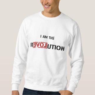 私は改革です スウェットシャツ
