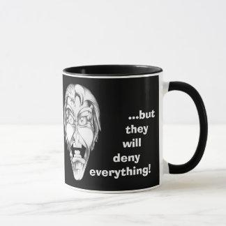 私は政府と…あります マグカップ