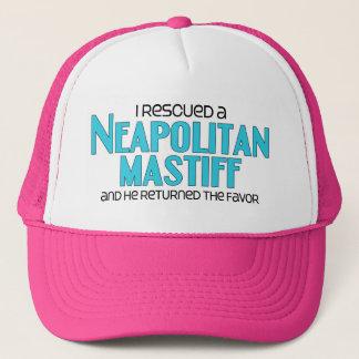 私は救助しましたNeapolitanマスティフ(オス犬)を キャップ