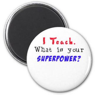 私は教えます。 あなたの超出力は何ですか。 マグネット