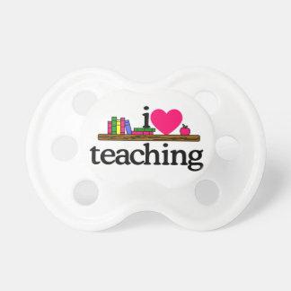 私は教えることを愛します おしゃぶり