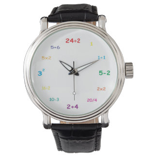 私は数学を愛します! 腕時計