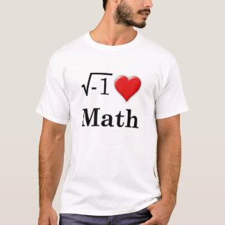 私は数学を愛します Tシャツ