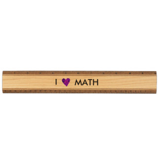 私は数学木定規を愛します カエデ 定規