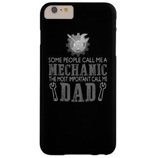 私は整備士であり、パパです BARELY THERE iPhone 6 PLUS ケース