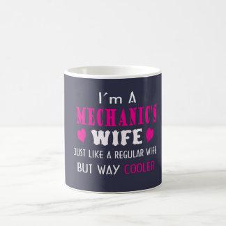 私は整備士の妻です コーヒーマグカップ
