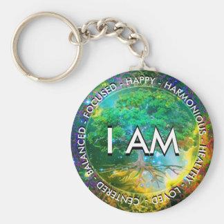 私は断言の生命の樹です キーホルダー