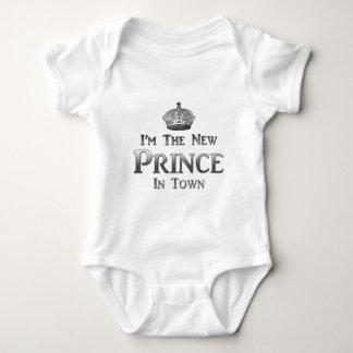 私は新しい王子ですTown ベビーボディスーツ