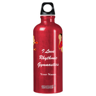 私は新体操のカスタムを愛します ウォーターボトル