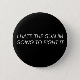 私は日曜日ボタンを憎みます 缶バッジ