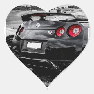 私は日産GTRを愛します ハートシール
