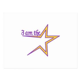 私は星です ポストカード