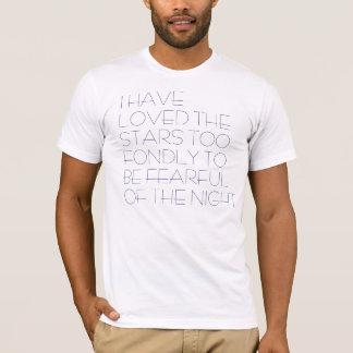 私は星を愛しました Tシャツ