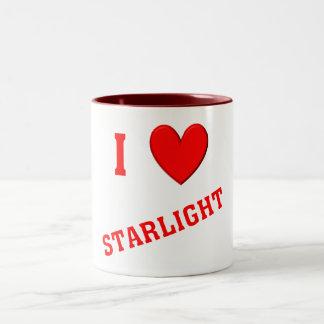 私は星明かりを愛します ツートーンマグカップ