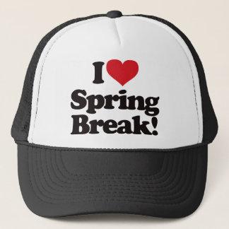 私は春休みを愛します! キャップ