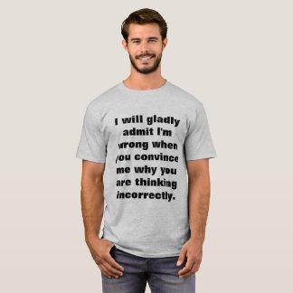 私は是認します決定します Tシャツ