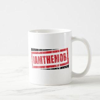 私は暴徒です コーヒーマグカップ