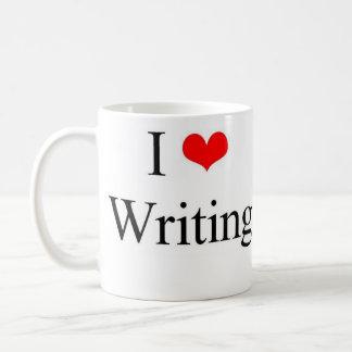 私は書くことを愛します コーヒーマグカップ