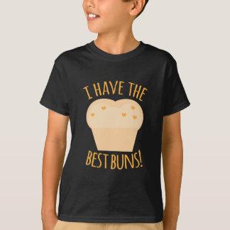 私は最も最高のなパンを食べます Tシャツ
