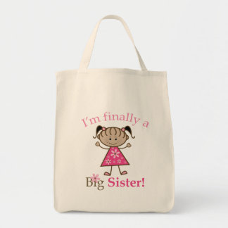 私は最終的に姉の民族の棒の姿の女の子です トートバッグ