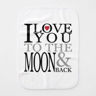 私は月および背部に愛します バープクロス