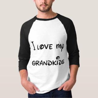 私は月および背部に私の孫を愛します Tシャツ