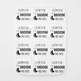 私は月および背部愛に愛します バープクロス