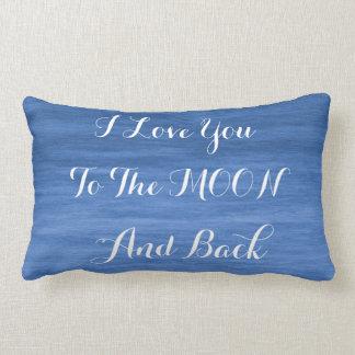 私は月および背部Lumbarの枕に愛します ランバークッション