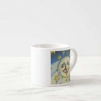 私は月のエスプレッソのマグを見ます エスプレッソカップ