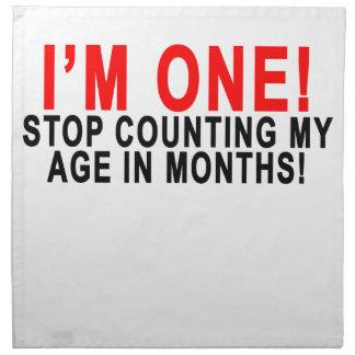 私は月の私の年齢を数える1つの停止です! .png ナプキンクロス