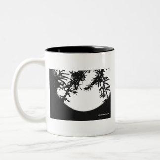 私は月光を愛します! ツートーンマグカップ
