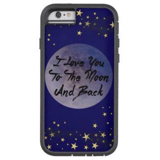 私は月及び背部に愛します TOUGH XTREME iPhone 6 ケース