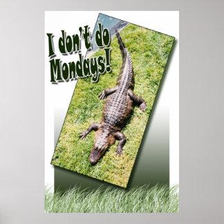 私は月曜日をしません ポスター