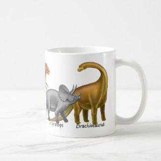 私は有史以前の恐竜のマグを愛します コーヒーマグカップ