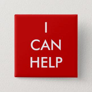 私は有志ボタンの慈善のイベントの赤を救済してもいいです 缶バッジ