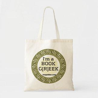 私は本のギリシャ人のトートです トートバッグ