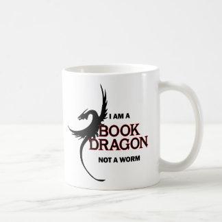私は本のドラゴンないみみずです(両側印刷される) コーヒーマグカップ