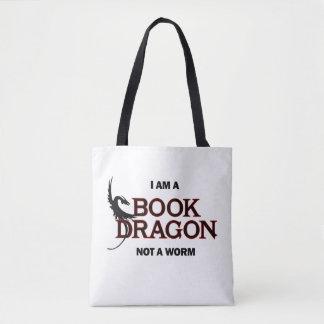 私は本のドラゴンみみずではなくです トートバッグ