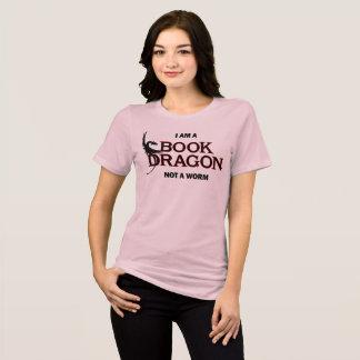 私は本のドラゴンみみずではなくです Tシャツ