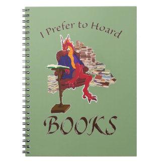 私は本を貯蔵することを好みます ノートブック