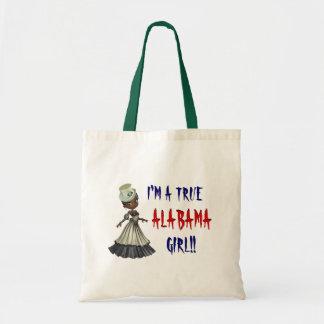 私は本当のアラバマの女の子のアラバマのハンド・バッグです トートバッグ