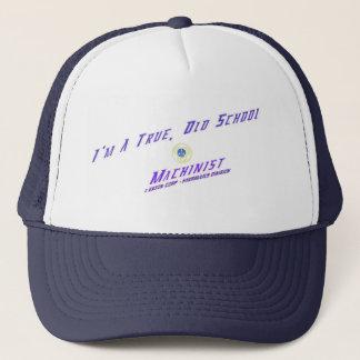 私は本当、古い学校の機械工の帽子です キャップ