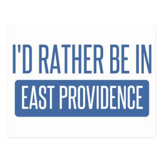 私は東のプロヴィデンスにむしろあります ポストカード