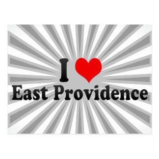 私は東のプロヴィデンス、米国を愛します ポストカード