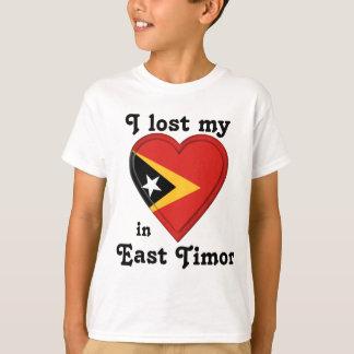 私は東部チモール島の私のハートを失った Tシャツ