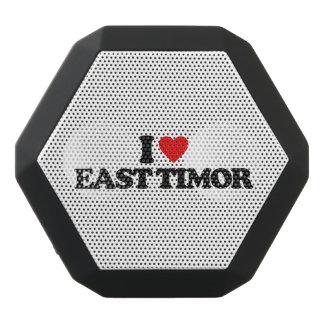 私は東部チモール島を愛します ブラックBluetoothスピーカー