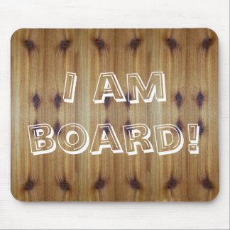 私は板西部の赤いヒマラヤスギのマウスパッドです マウスパッド