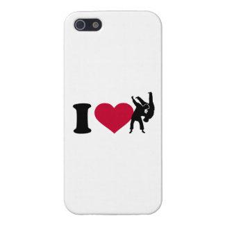 私は柔道を愛します iPhone SE/5/5sケース