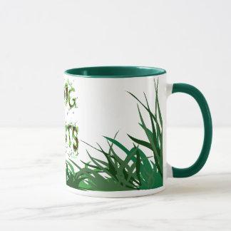 私は植物の庭師のスローガンのコーヒー・マグを掘ります マグカップ